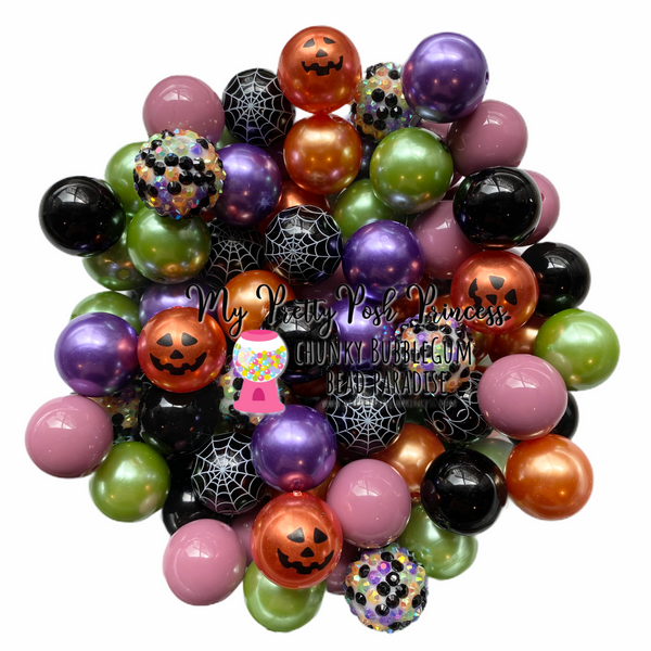 Hocus Pocus Themed Chunky Bubble Gum Bead Lot *Read Entire Product Description Before Purchase