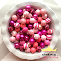 Pink Themed Chunky Bubble Gum Bead Lot *Read Entire Product Description Before Purchase