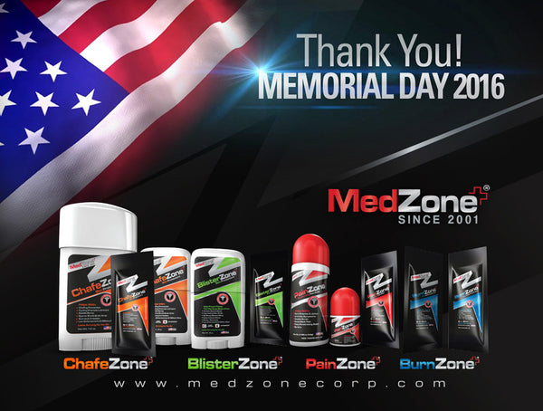 MedZone Salutes Our Heroes on Memorial Day