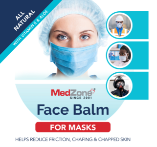 MedZone Face Balm for Masks - Press Release