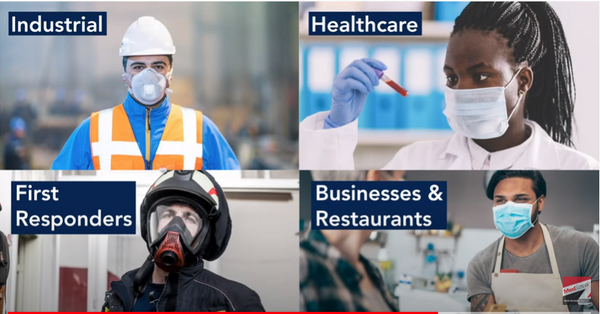 New Videos Promoting Face Balm - People Who Wear Masks & PPE Now Have A New Alternative