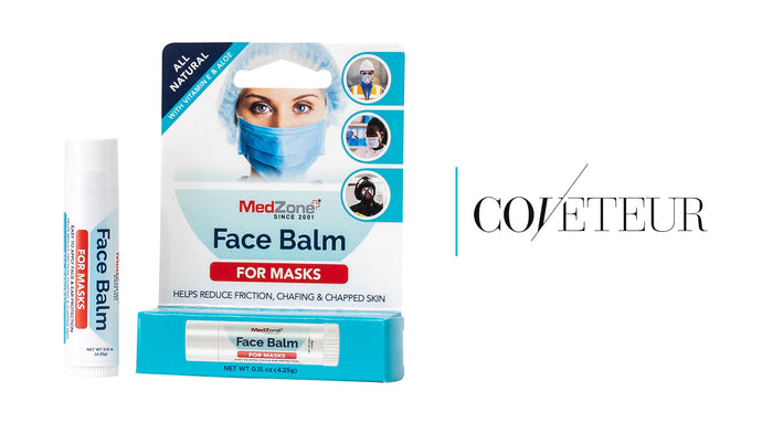 Face Balm for Masks Featured on Coveteur