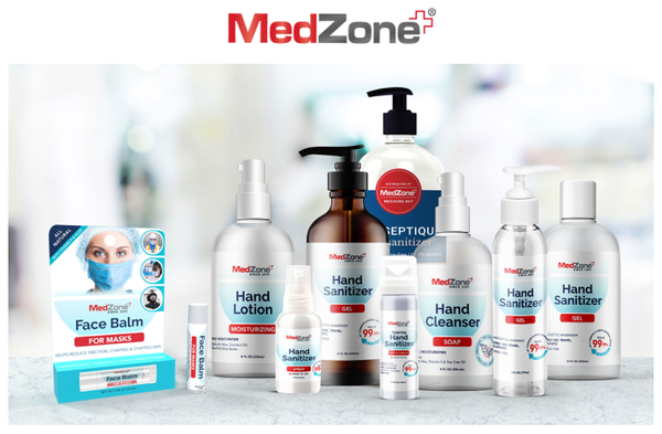 MedZone Launches Business Sanitizer Program To Offer Custom Hand Sanitizer Options For Businesses