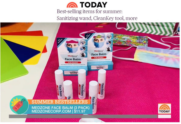 TODAY Show Segment Featuring Face Balm for Face Masks by MedZone