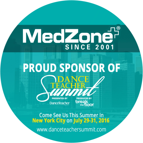 MedZone Sponsor of Dance Teacher Summit