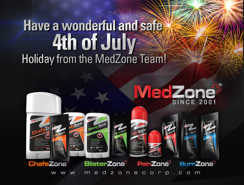 MedZone Holiday Wishes 4th of July