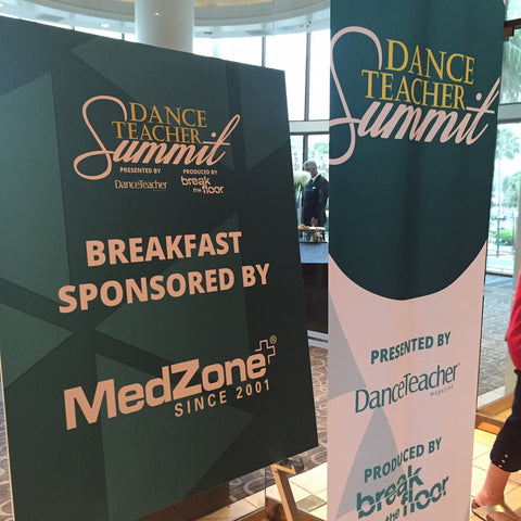 Dance Teacher Summit — Breakfast Sponsored by MedZone