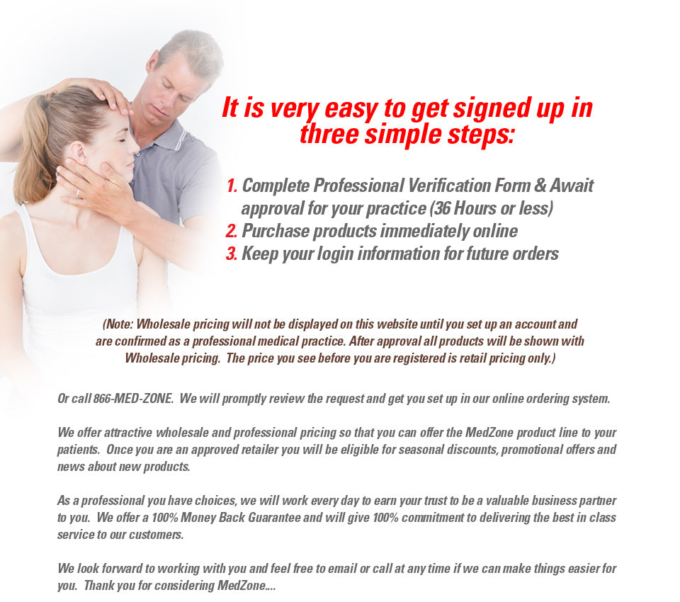 Simple steps to get signed up