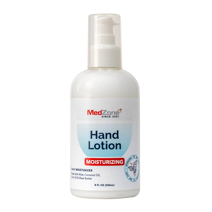 MedZone Moisturizing Hand Lotion - MedZone - Because EveryBODY Hurts -Hand Sanitizers, Prevent Blisters, Chafing, Face Mask Irritation