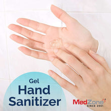 Load image into Gallery viewer, MedZone Hand Sanitizer Gel - 6 oz (6 Pack) - MedZone - Because EveryBODY Hurts -Prevent Blisters, Chafing & Help w/ Pain Relief