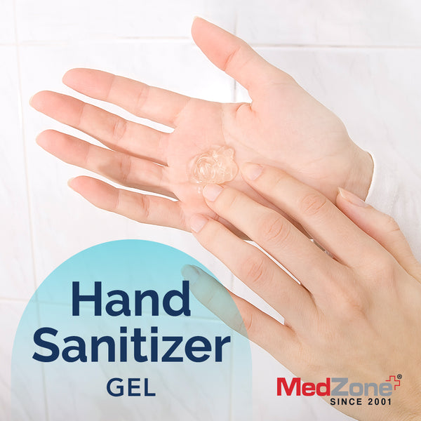 Hand Sanitizer Case Pack by MedZone (12 units) - 6 oz Gel with Pump - MedZone - Because EveryBODY Hurts -Hand Sanitizers, Prevent Blisters, Chafing, Face Mask Irritation