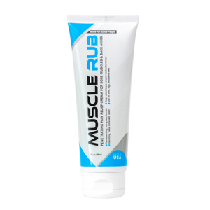 Muscle Rub - Topical Relief Cream - 3 oz Near Odorless Formula - MedZone - Because EveryBODY Hurts -Hand Sanitizers, Prevent Blisters, Chafing, Face Mask Irritation