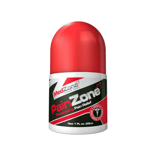 PainZone 3 oz - Professional Grade Formula - MedZone - Because EveryBODY Hurts -Prevent Blisters, Chafing & Help w/ Pain Relief