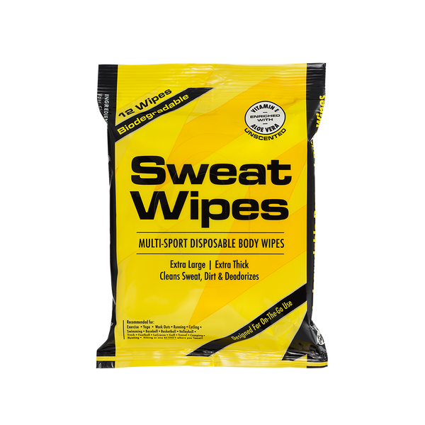 Sweat Wipes - Gentle Body Cleansing Wipe - MedZone