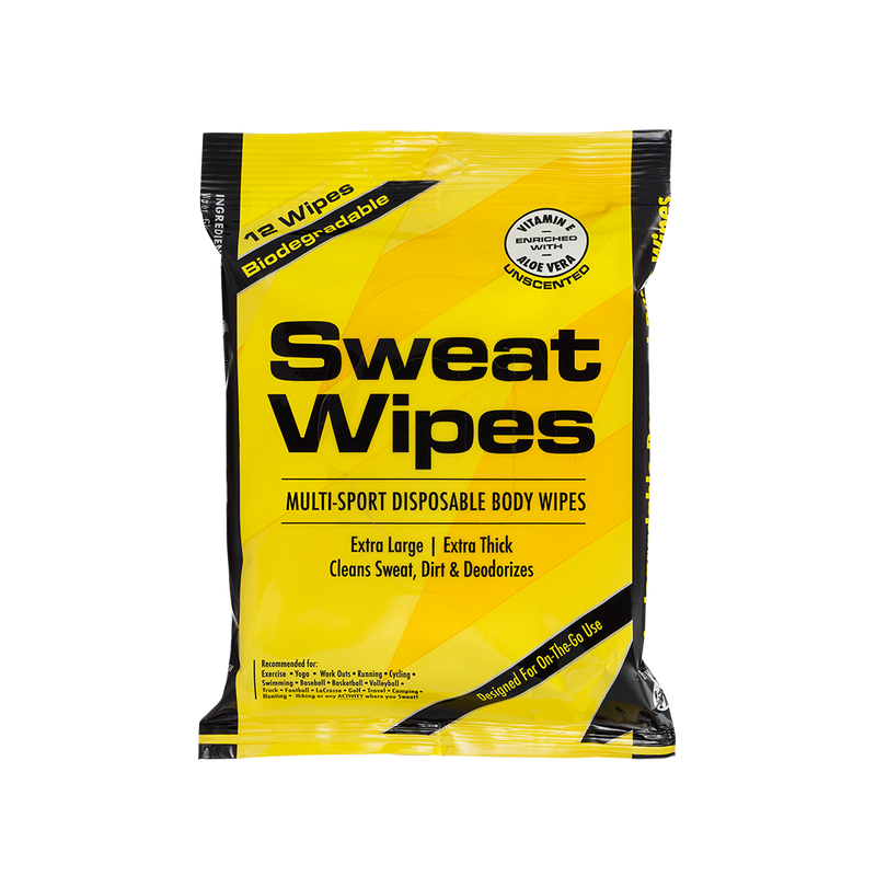 Gentle Cleansing Sweat Wipes - MedZone - Because EveryBODY Hurts -Hand Sanitizers, Prevent Blisters, Chafing, Face Mask Irritation