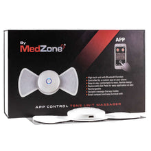 Load image into Gallery viewer, Wireless Bluetooth TENS Unit Massager & Muscle Stimulator - MedZone - Because EveryBODY Hurts -Prevent Blisters, Chafing & Help w/ Pain Relief
