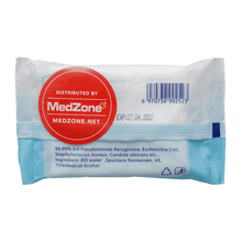 Load image into Gallery viewer, 75% Alcohol Wipes (12 Packages) - MedZone - Because EveryBODY Hurts -Hand Sanitizers, Prevent Blisters, Chafing, Face Mask Irritation
