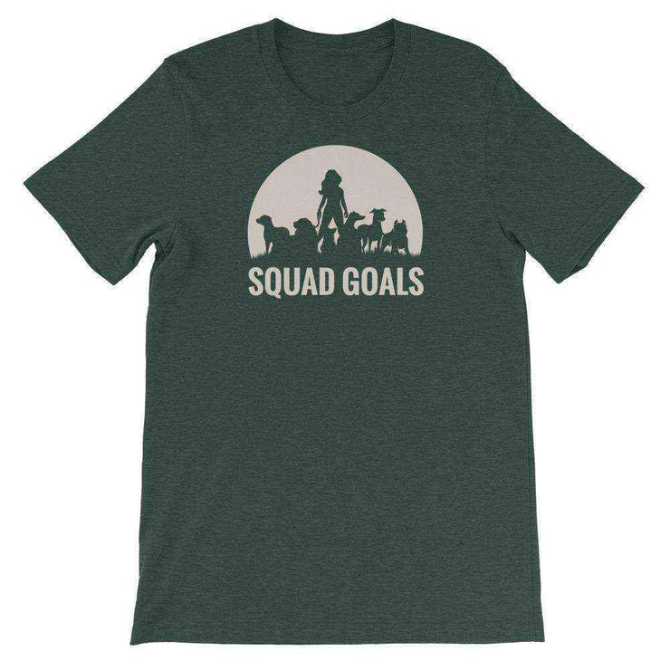 Fearless Girl Dog Mom Squad Goals T-Shirt - Pup Wax dog paw wax and dry dog nose balm