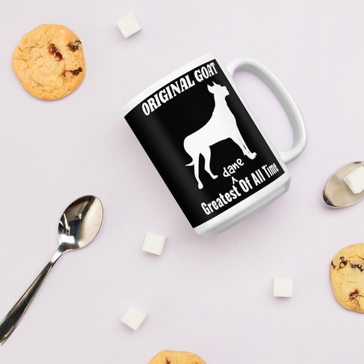 Greatest (Dane) Of All Time mug - Pup Wax dog paw wax and dry dog nose balm