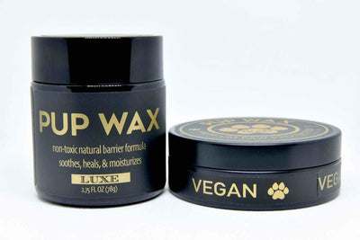 Pup Wax Vegan and Luxe Duo Gift Pack - Pup Wax dog paw wax and dry dog nose balm
