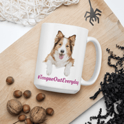Tongue Out Everyday Mug - Pup Wax dog paw wax and dry dog nose balm