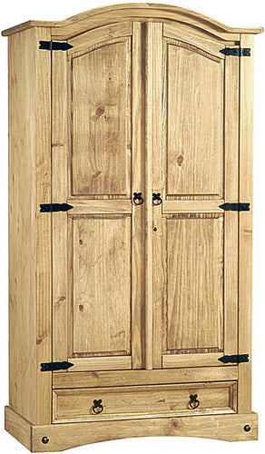 Corona Wardrobe 2 Doors&1Draw