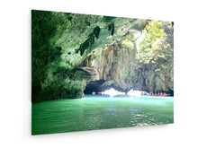 Load image into Gallery viewer, Poly Canvas Print - Caves
