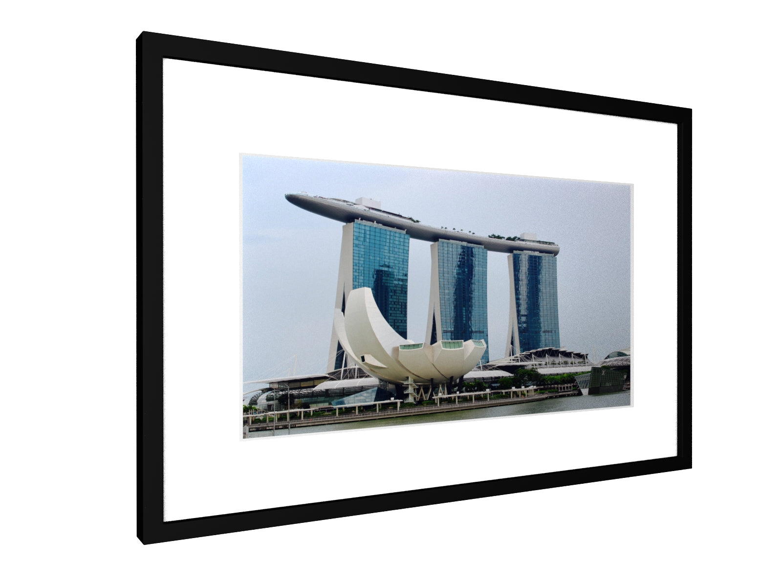 Framed print - Smooth - Singapore Skyline