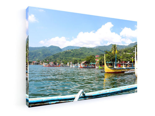 Stretched Canvas Classic – Premium - Taal Lake