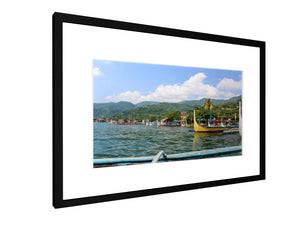Framed print - Smooth - Taal Lake