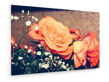 Load image into Gallery viewer, Stretched Canvas - Textile - Flowers