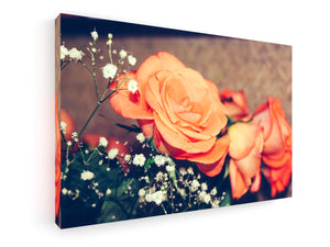 Stretched Canvas Classic – Premium - Flowers