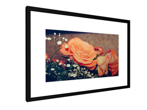 Framed print - Smooth - Flowers