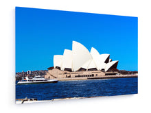 Load image into Gallery viewer, Stretched Canvas - Textile - Sydney Opera House