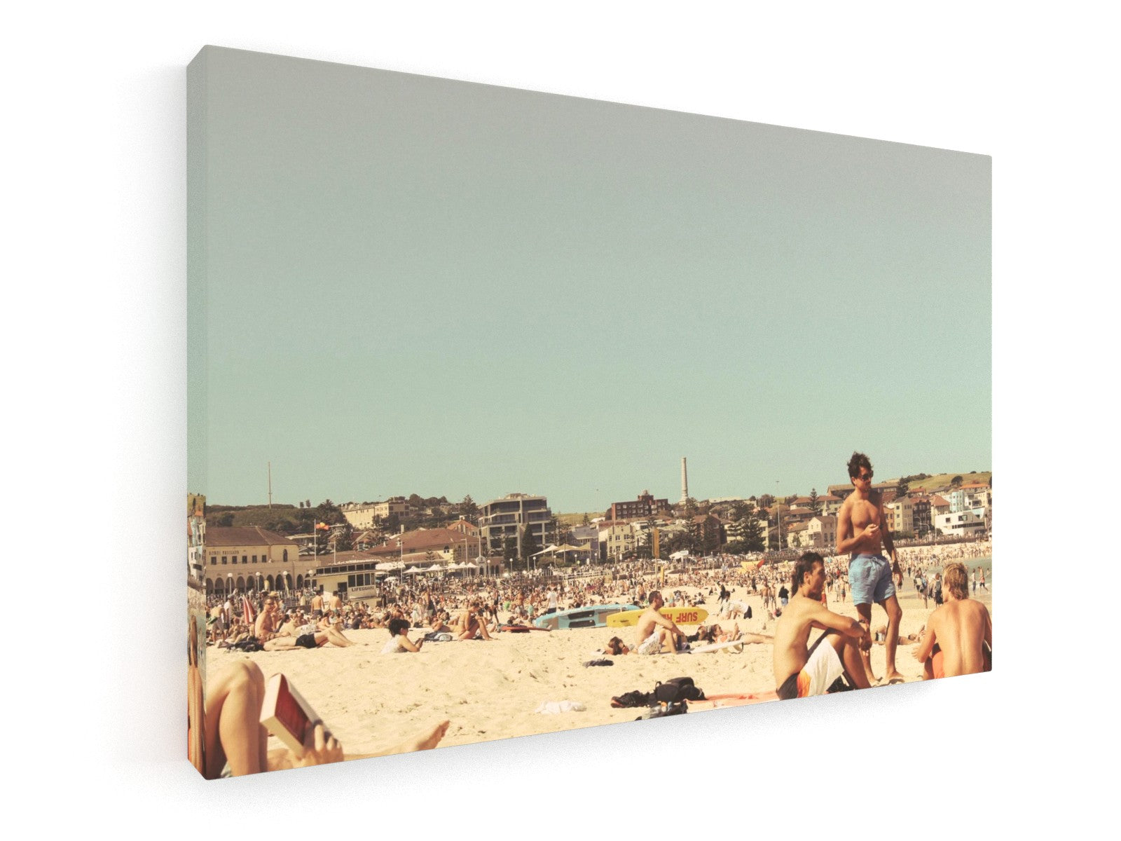Stretched Canvas Classic – Premium - Bondai Beach, Sydney