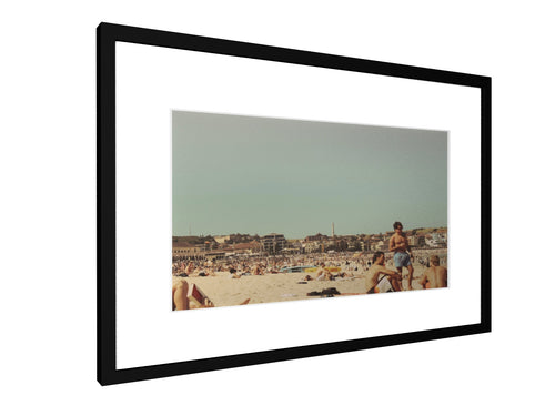Framed print - Smooth - Bondai Beach, Sydney