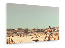 Load image into Gallery viewer, Poly Canvas Print - Bondai Beach, Sydney