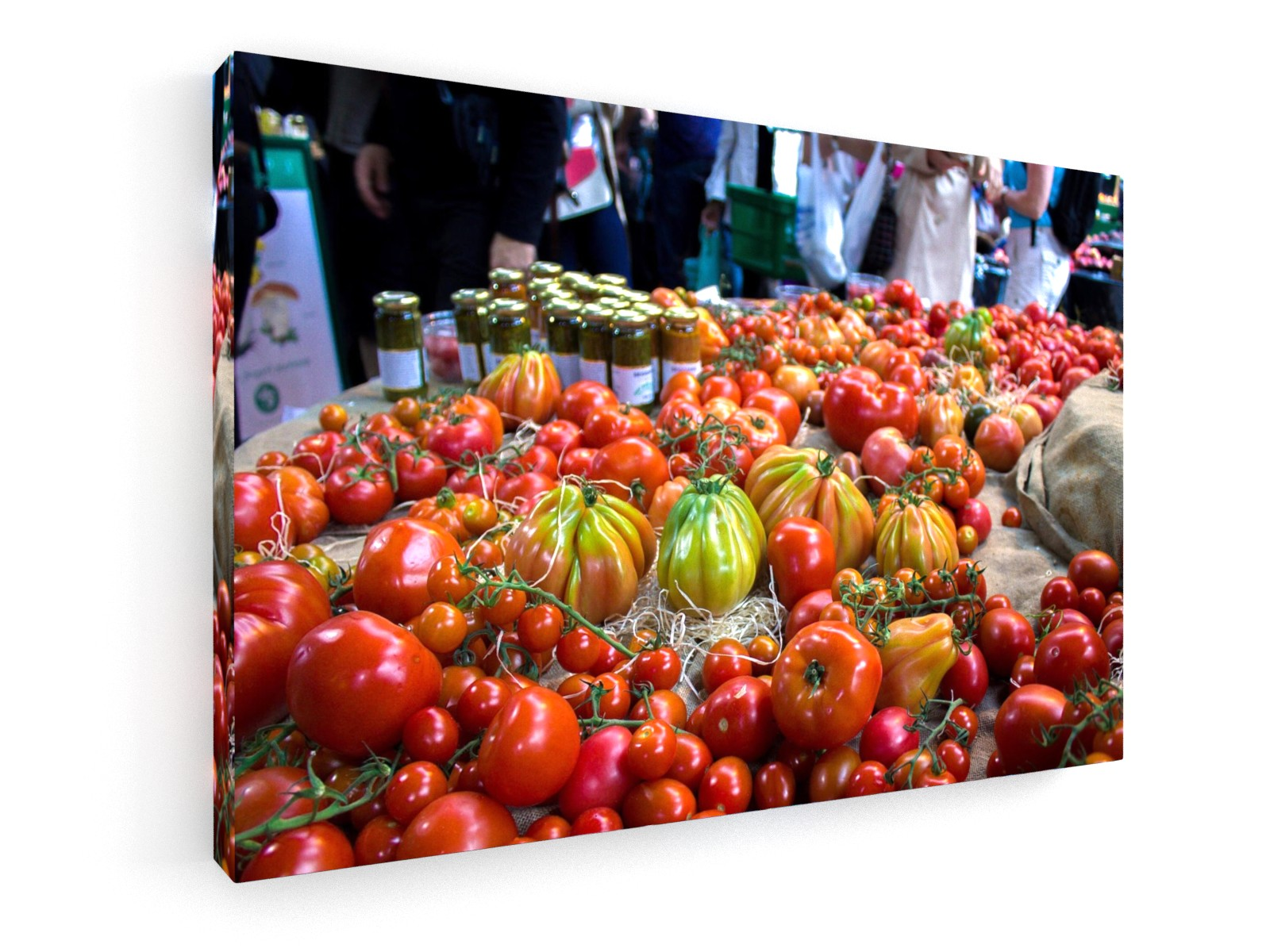 Stretched Canvas Classic – Premium - Tomatoes