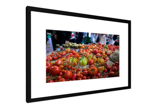 Framed print - Smooth - Tomatoes