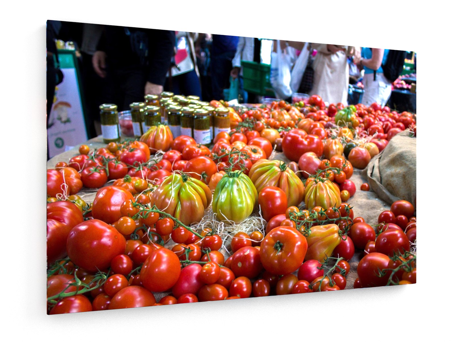 Poly Canvas Print - Tomatoes