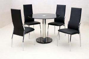 Alonza Black Dining Table