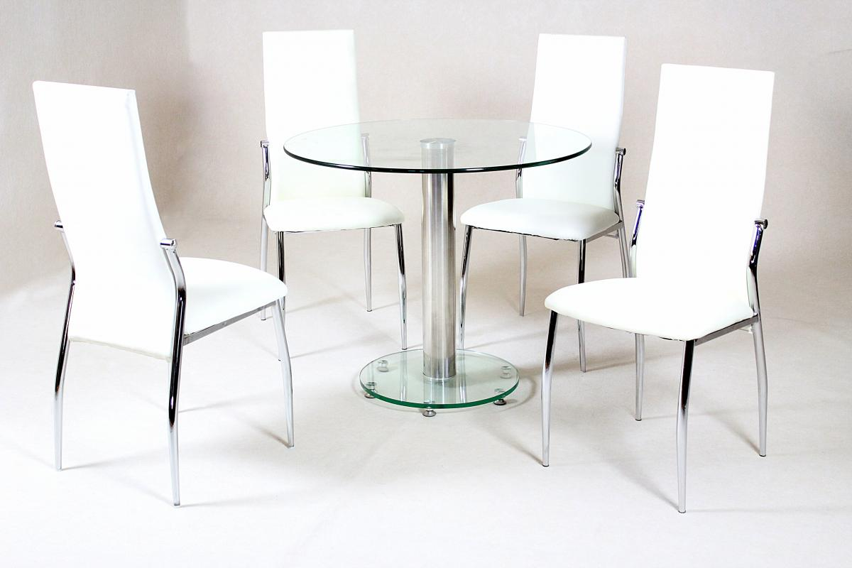 Alonza Dining Table Clear