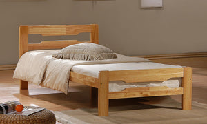 Amelia Solid Wood Single Bed