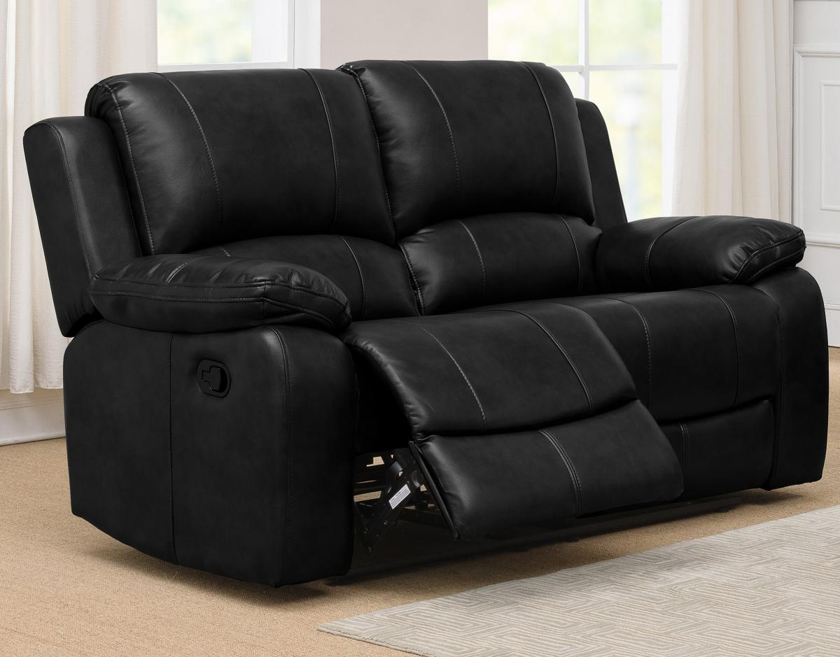 Andalusia Recliner LeatherGel & PU 2 Seater