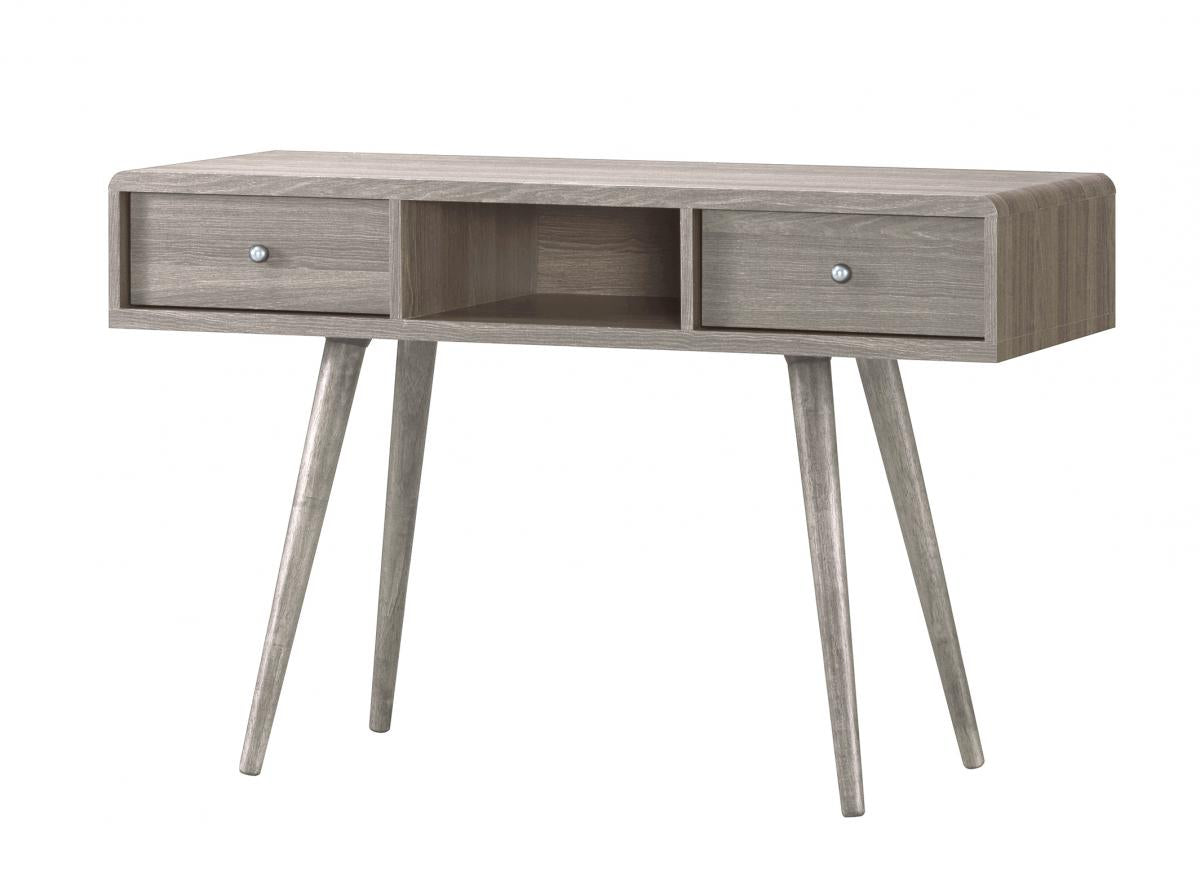 Belvoir Dressing Table 2 Drawer Grey Oak