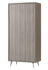 Belvoir Wardrobe 2 Door Grey Oak