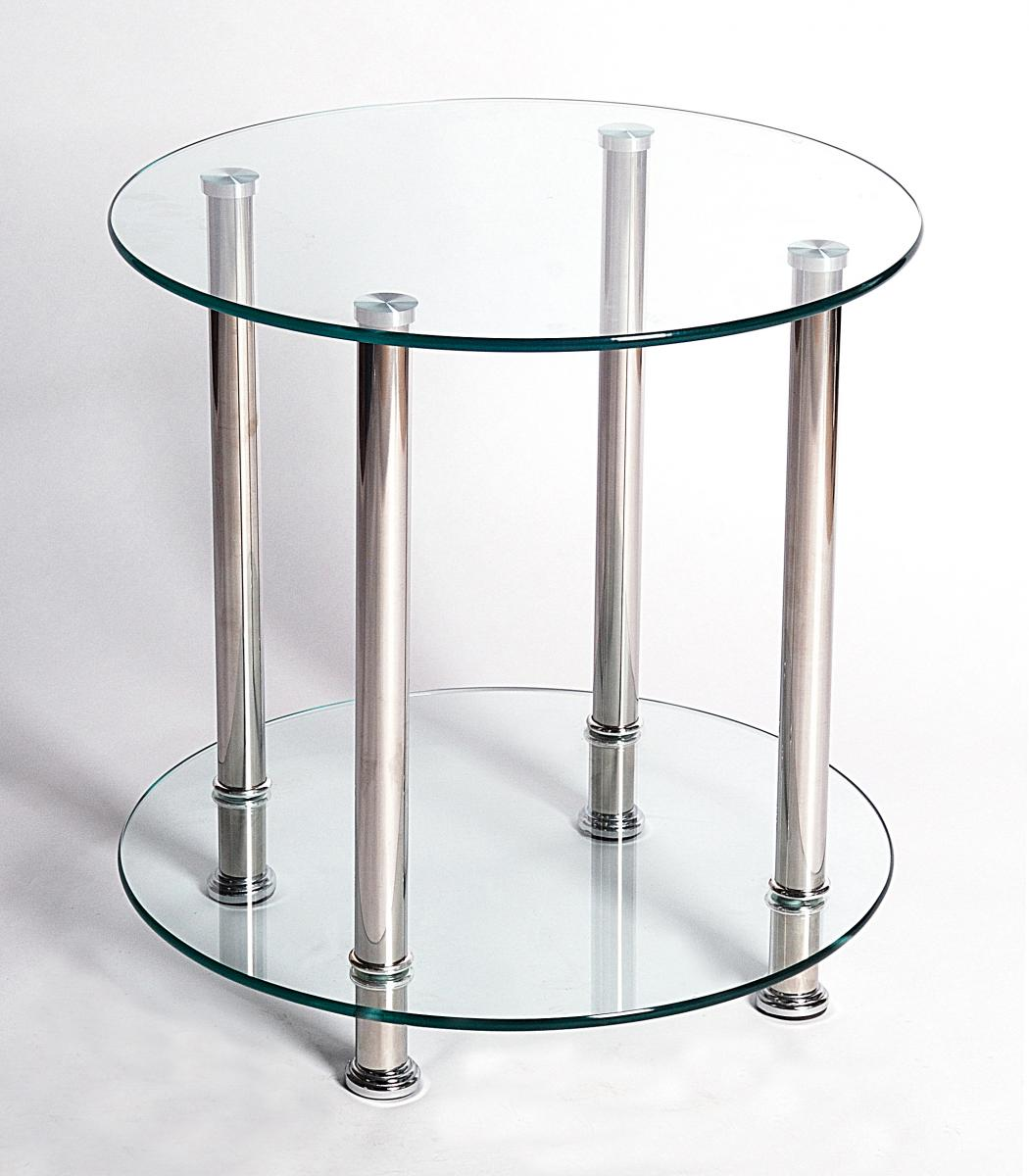 Benton Clear Lamp Table