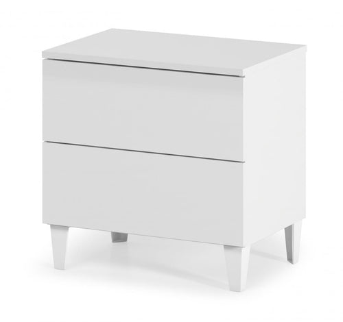 Arctic Chest 2 Drawer High Shine White