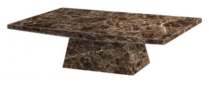 Senegal Marble Coffee Table
