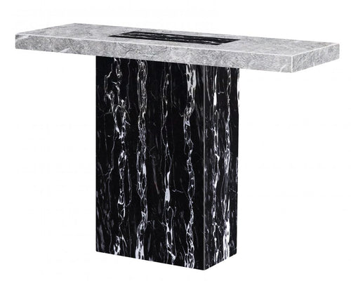 Lotus Marble Console Table